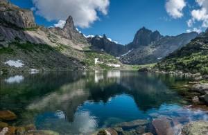 Безжизненное озеро Сибири