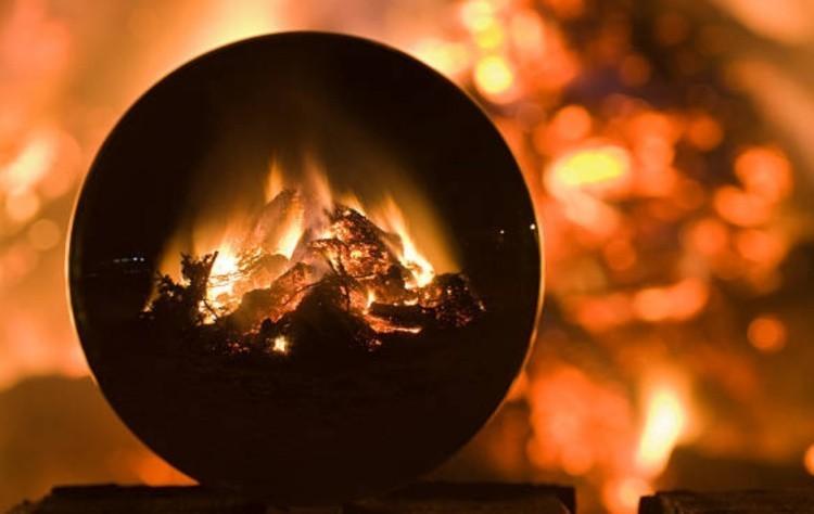 Гадание по огню