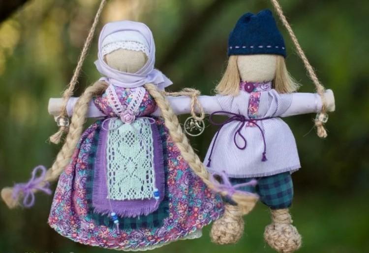 Куклы талисманы славян