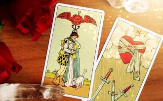 Бесплатный расклад карт Таро на любовь 4 карты предсказание