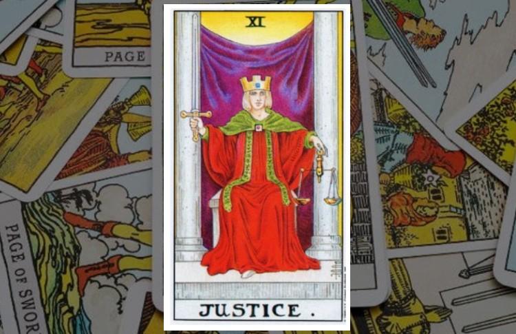 Правосудие Старший Аркан Таро