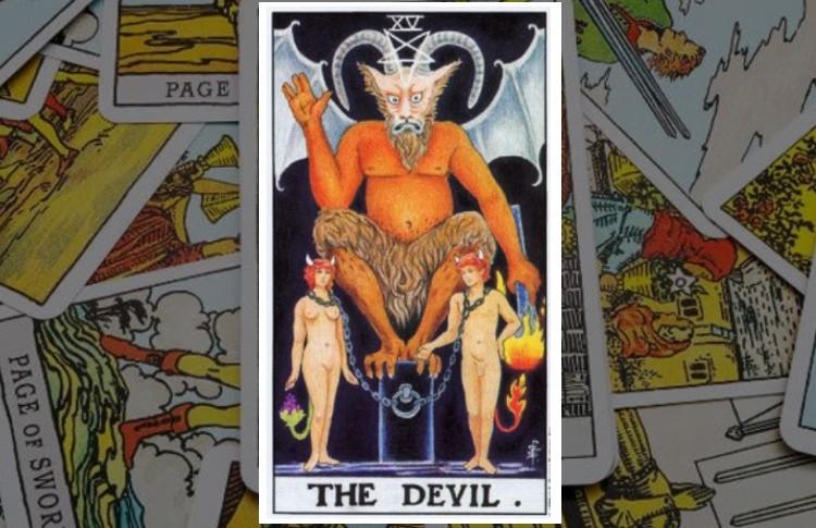 Дьявол Старший Аркан Таро