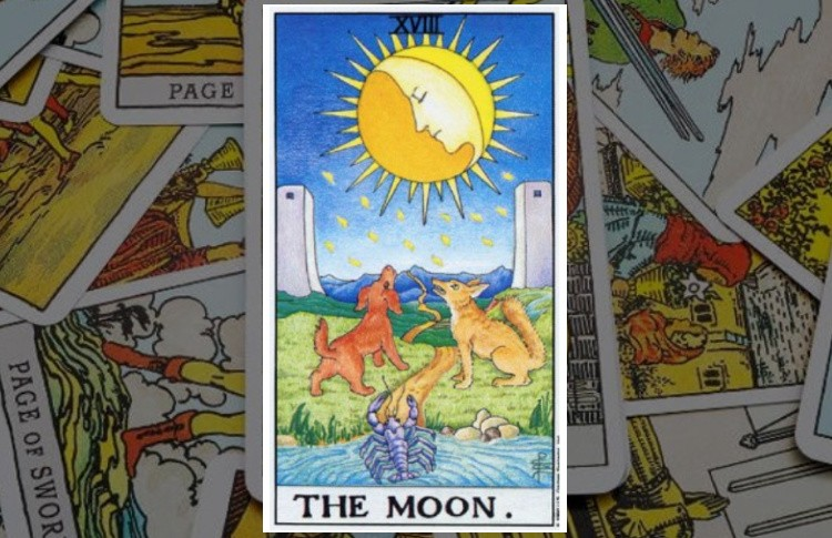 Луна Старший Аркан Таро