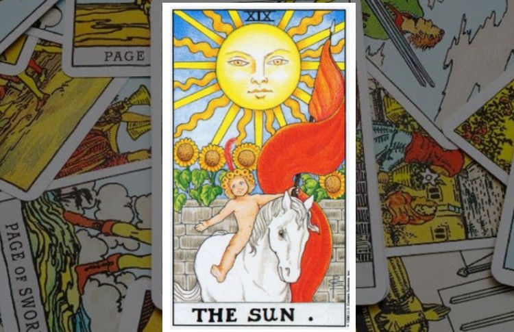 Солнце Старший Аркан Таро